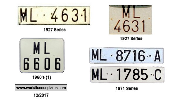 Melilla License Plates