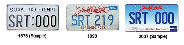 License Plates of the Standing Rock Sioux