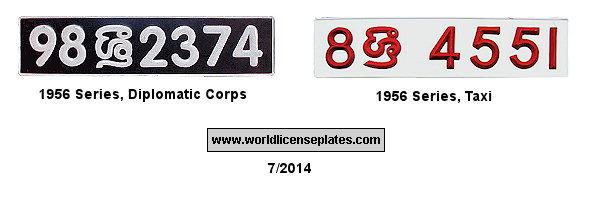 License Plates of Sri Lanka