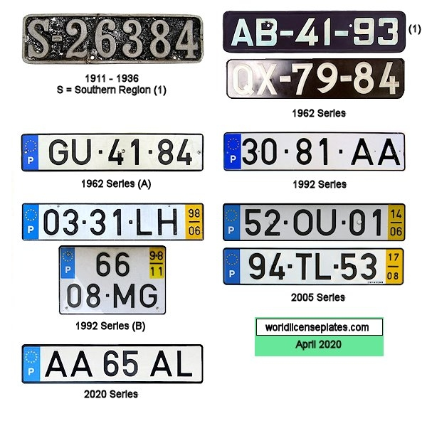 Dating uk registration plates