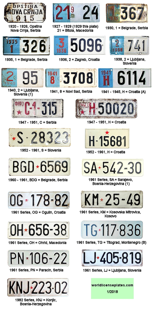 Vehicle license plates of the world - Page 176 - SkyscraperCity