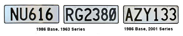 New Zealand License Plates