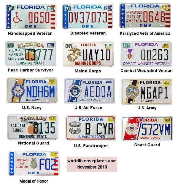 Florida Car Dealer License Plate