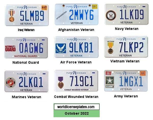 License Plates of Michigan